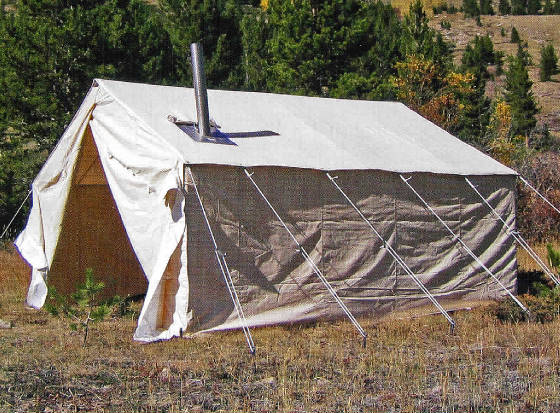 Tents for sale wall tents cimarron tent big horn wall tent for Reliable tipi