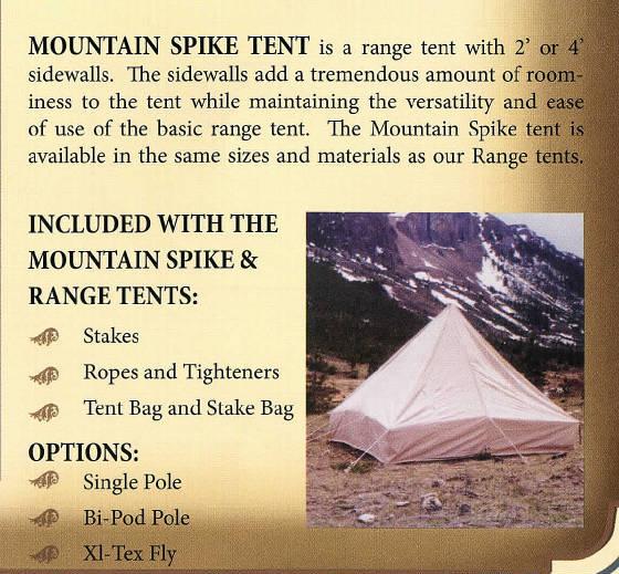 Tents/MountainSpike.jpg.  sc 1 st  Moab Outback & Tents for saleRange Tent u0026 Mountain Spike Tent